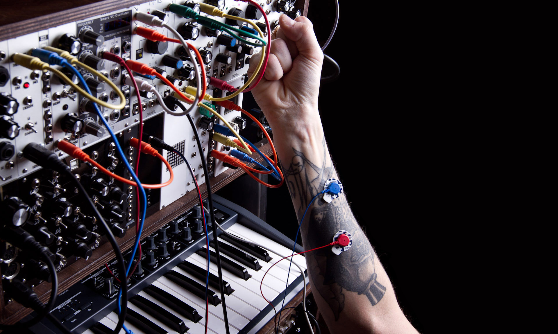 human-synthesizer sensing interface